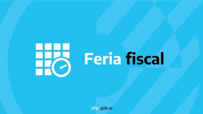 La AFIP extiende la feria fiscal hasta el 16 de agosto