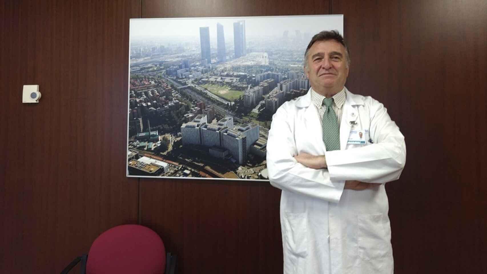"""Agustin Utrilla, del Ramon y Cajal: """"Ya estamos desalojando zonas del hospital para la Covid"""""""
