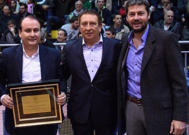 Lammens se reunio con las autoridades del basquet y hay ilusion para el regreso de la Liga