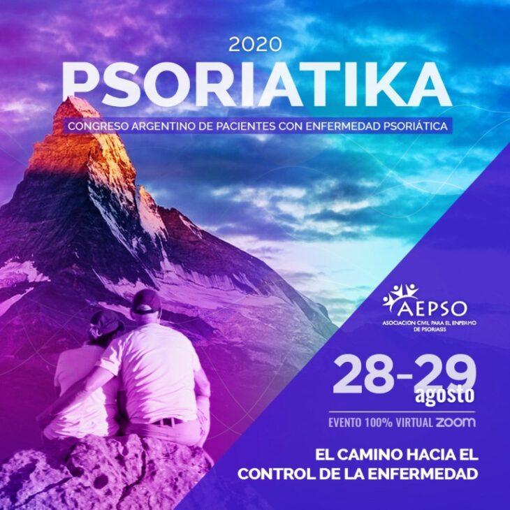 El 28 y 29 se realizara en forma virtual, el primer Congreso Argentino para pacientes con enfermedad psoriatica