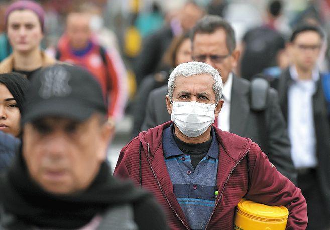 Picos de contagio en las ciudades de Colombia