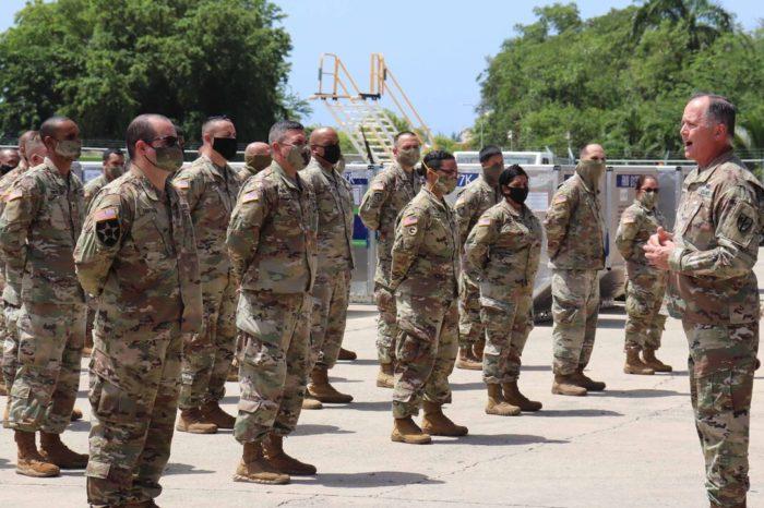 Unos 66 militares boricuas brindaran seguridad en Honduras