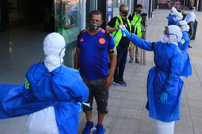 Colombia suma 397.623 casos confirmados de coronavirus este lunes