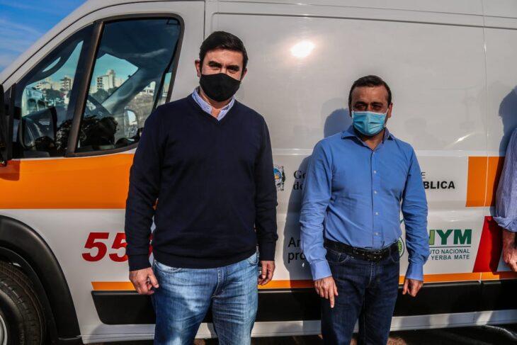 Fabio Martinez destaco que la Salud Publica sea prioridad en Misiones y agradecio al Gobernador por la ambulancia de alta complejidad para Eldorado