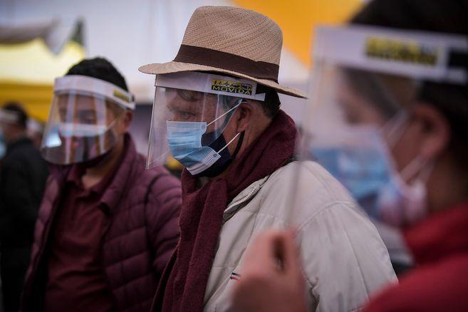 Colombia suma 551.696 casos confirmados de coronavirus este 24 de agosto