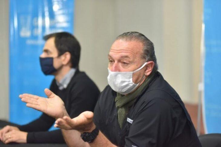 Coronavirus: Sergio Berni decidio aislarse luego que uno de sus colaboradores diera positivo