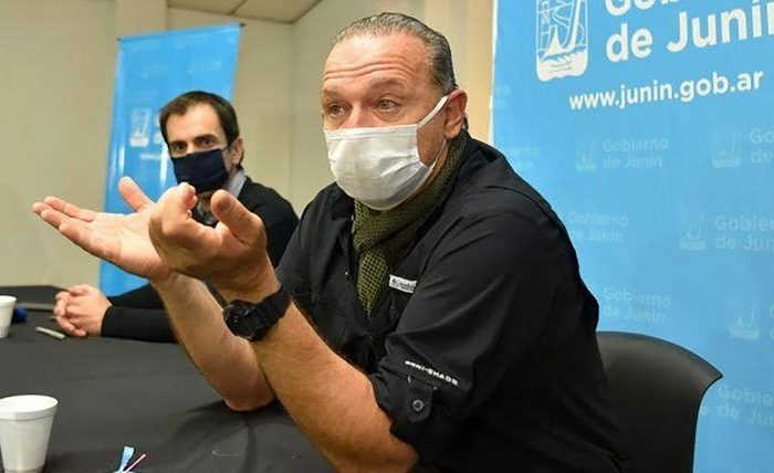 Sergio Berni conto su experiencia tras contagiarse coronavirus