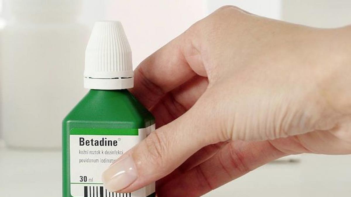 Betadine, clorhexidina, alcohol... ¿Que diferencia hay y que debemos utilizar en una herida?