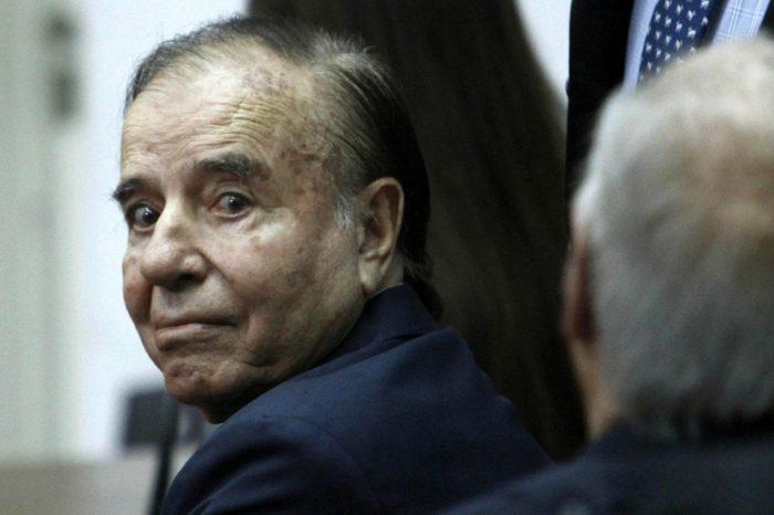 Carlos Menem dio negativo de coronavirus, confirmo su hija Zulema
