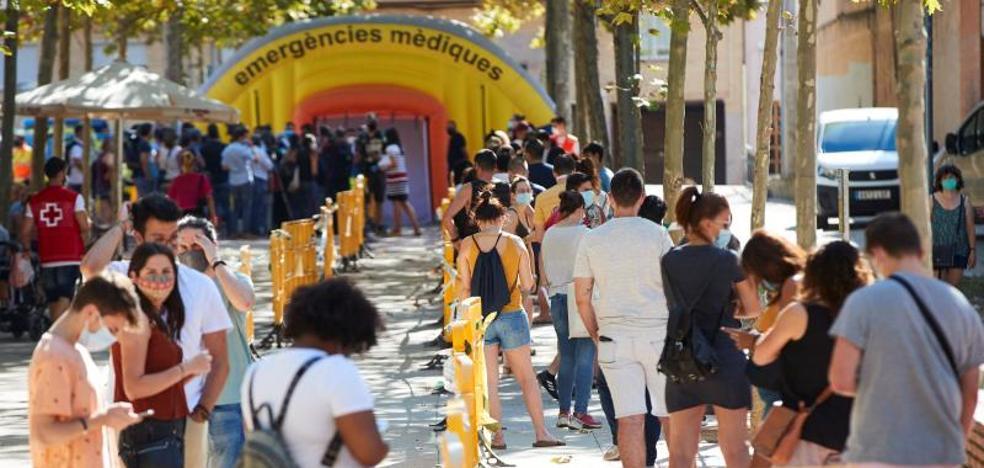 Mas de 75.000 españoles se han contagiado tras el confinamiento