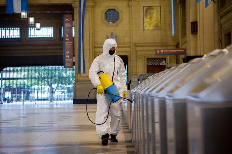 Coronavirus: Argentina quedo en el puesto 11 de los paises del mundo con mas contagios