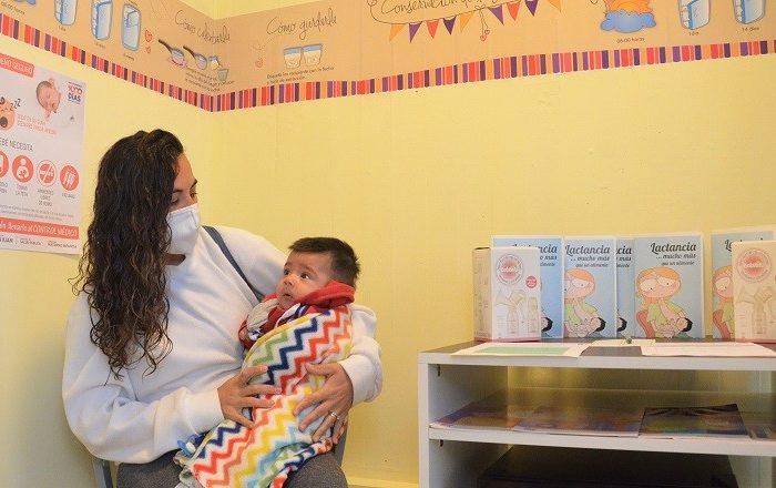 Un nuevo espacio de lactancia materna se inauguro en la Municipalidad de la Capital