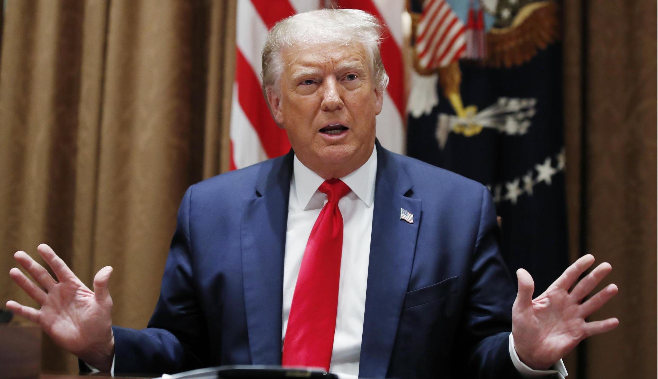 Twitter y Facebook eliminaron un video de Donald Trump tras afirmar informacion falsa sobre el coronavirus