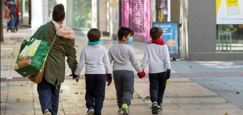 El contagio entre niños es seis veces menor que entre la poblacion general