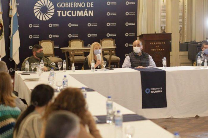 Manzur y su gabinete analizan el estado de situacion por el coronavirus en Tucuman