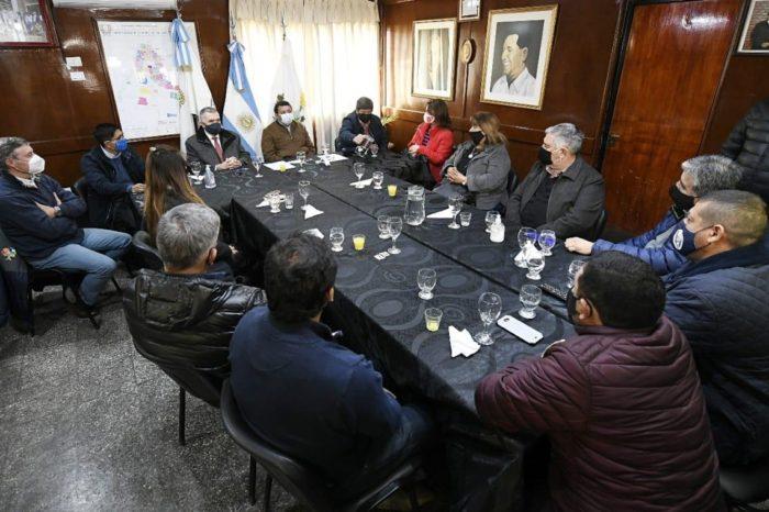 Jaldo analizo medidas contra el coronavirus junto a intendentes y a comisionados de Cruz Alta