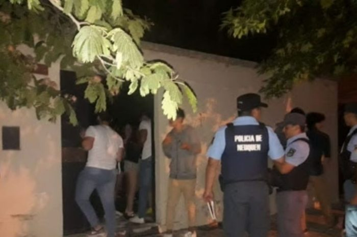 Una fiesta clandestina con mas de 70 personas triplico los contagios en una localidad de Neuquen