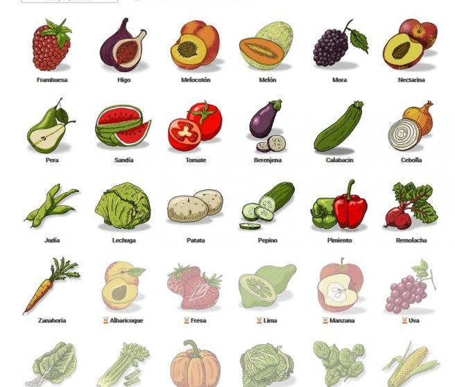 Que frutas y verduras estan de temporada en agosto