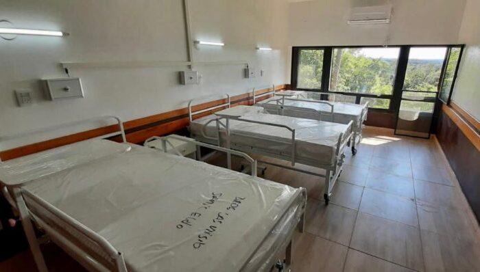 Eldorado: realizan mejoras en el Hospital Samic y en breve inauguraran un sector de Terapia Intermedia