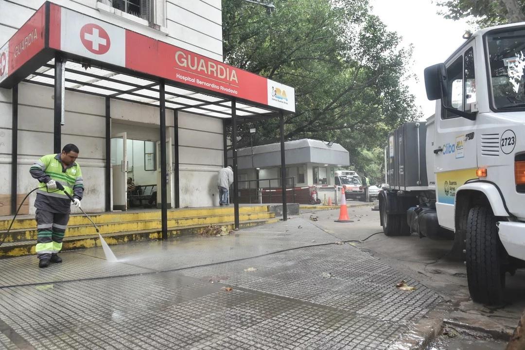 Coronavirus: fallecio otra trabajadora de la Salud en el Hospital Rivadavia en Buenos Aires