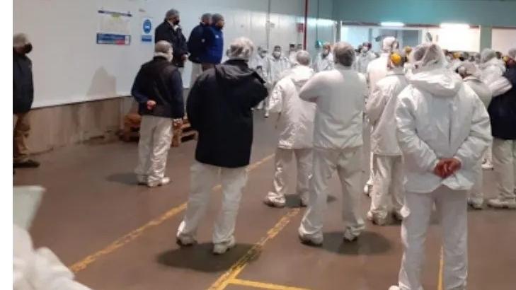 La Salteña cerro su fabrica por 10 trabajadores infectados de coronavirus