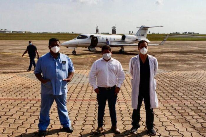 Coronavirus: este domingo llegaron los dos medicos misioneros que estaban ayudando en Jujuy