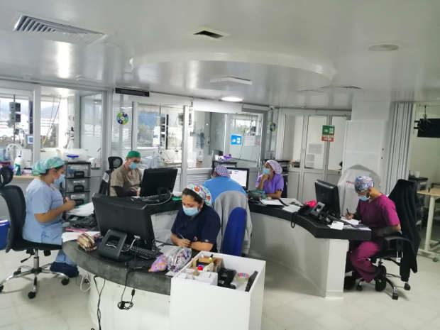 Abren UCI en la Clinica Santillana