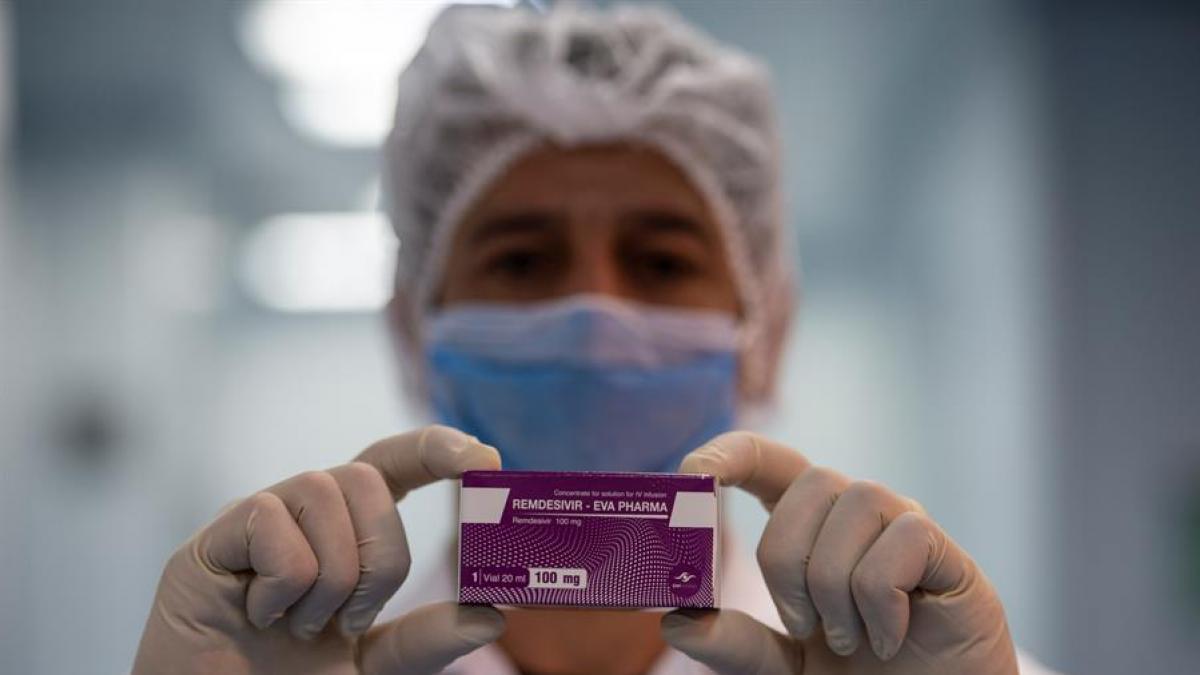 Sanidad actualiza la lista de farmacos esenciales ante la Covid e incluye el Remdesivir