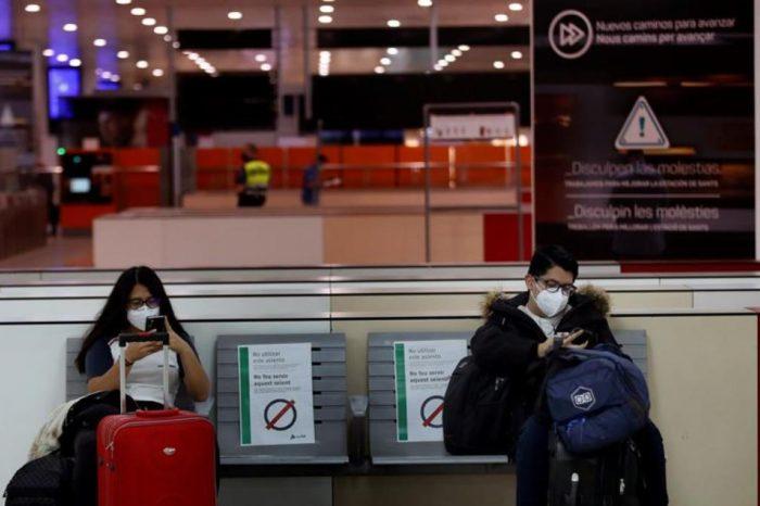 Que tasa de contagio de coronavirus hay en un tren