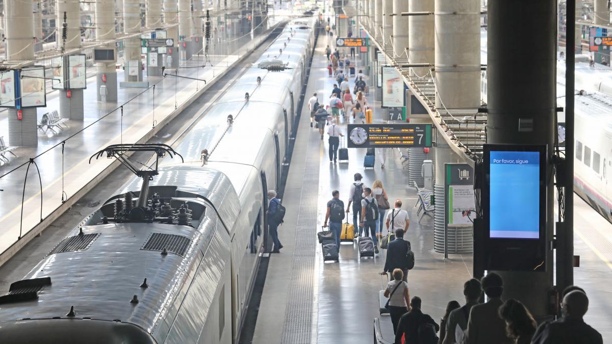Un estudio calcula las posibilidades de contraer la Covid-19 en un tren