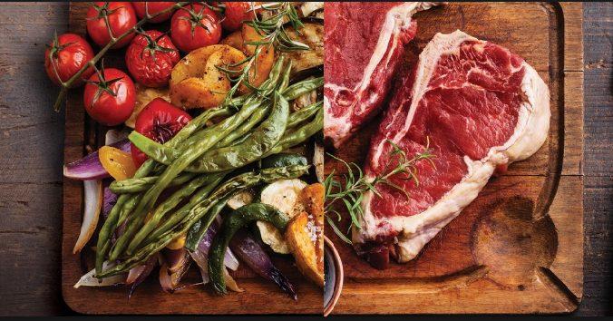 """Veganos vs carnivoros: señalan que """"ninguna nutricion saludable es a base de un solo tipo de alimentos"""""""