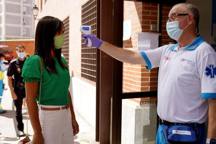 Madrid dice que un 35% de sus asintomaticos no contagia