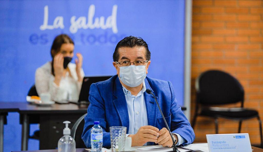 Minsalud alerta sobre incremento de ocupacion de las UCI en Bogota