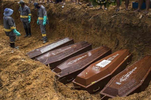 La covid-19 rebasa ya la cifra del millon de muertos en el mundo