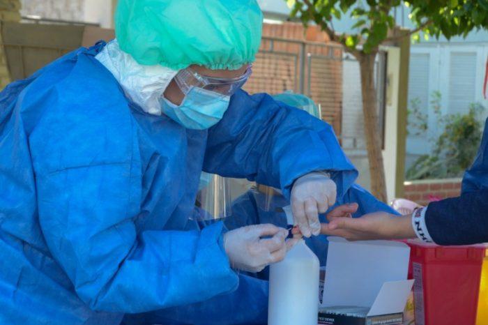 Salud realiza rastrillajes en barrios de Albardon y Chimbas