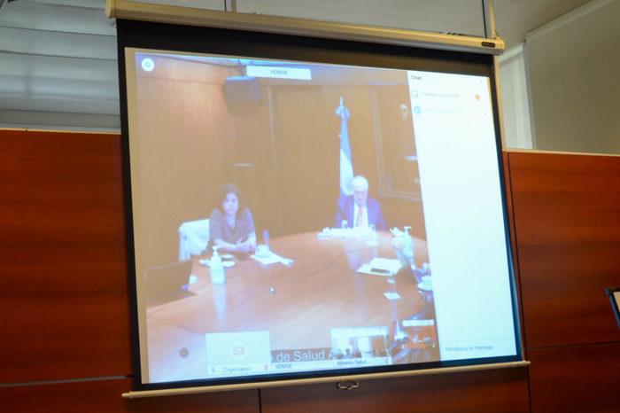 Autoridades sanitarias participaron del COFESA Region Cuyo