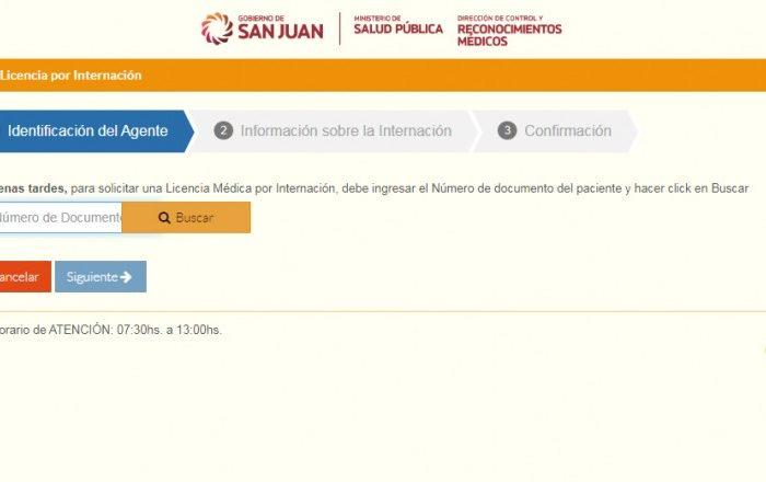 Segui estos pasos para obtener via online la Licencia Medica por Internacion