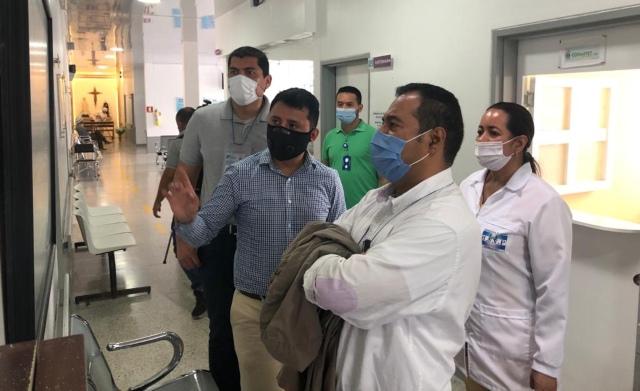 Territorial visita el Hospital San Vicente de Paul de Anserma