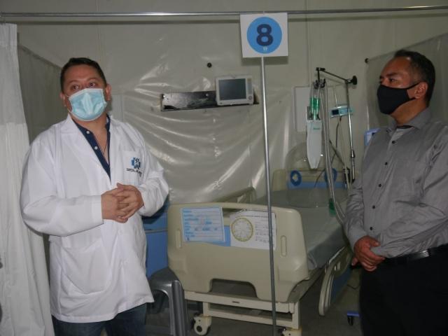 Abren sala UCI en el Hospital de Chinchina