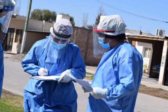 Caucete: equipos de Salud realizaron un rastrillaje sanitario