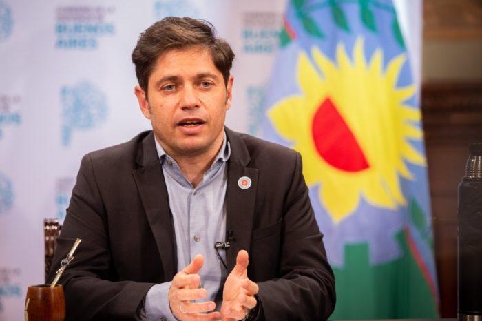 Axel Kicillof presentara su plan para reactivar la economia tras la pandemia