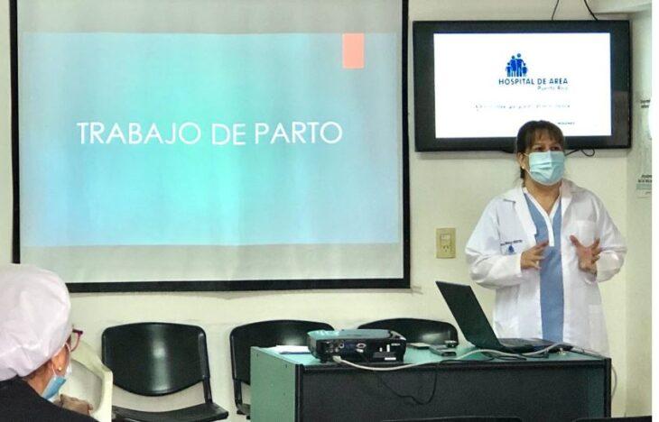 Actualizacion profesional en el Hospital de Área Puerto Rico
