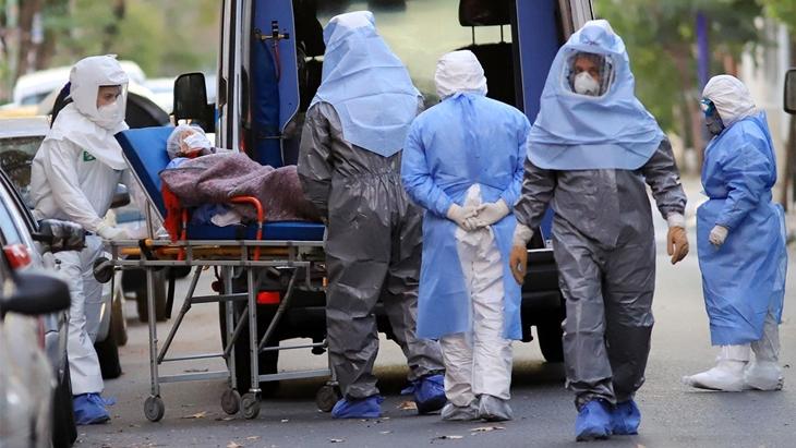 Este jueves fue el dia que Argentina confirmo mas casos de coronavirus desde que empezo la pandemia