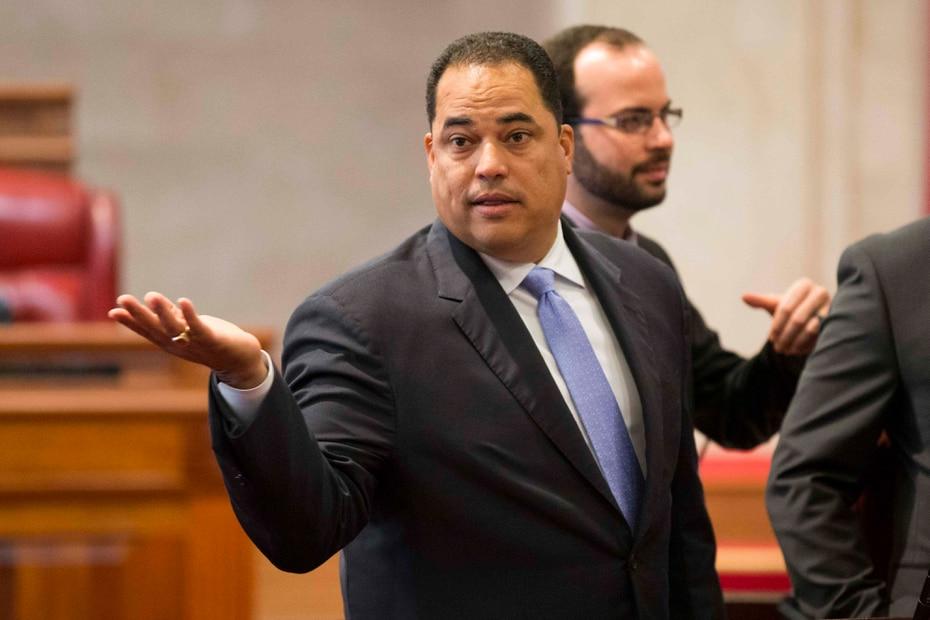Carmelo Rios - El senador por el PNP anuncio su resultado positivo, junto con Luis Berdiel, el pasado viernes.