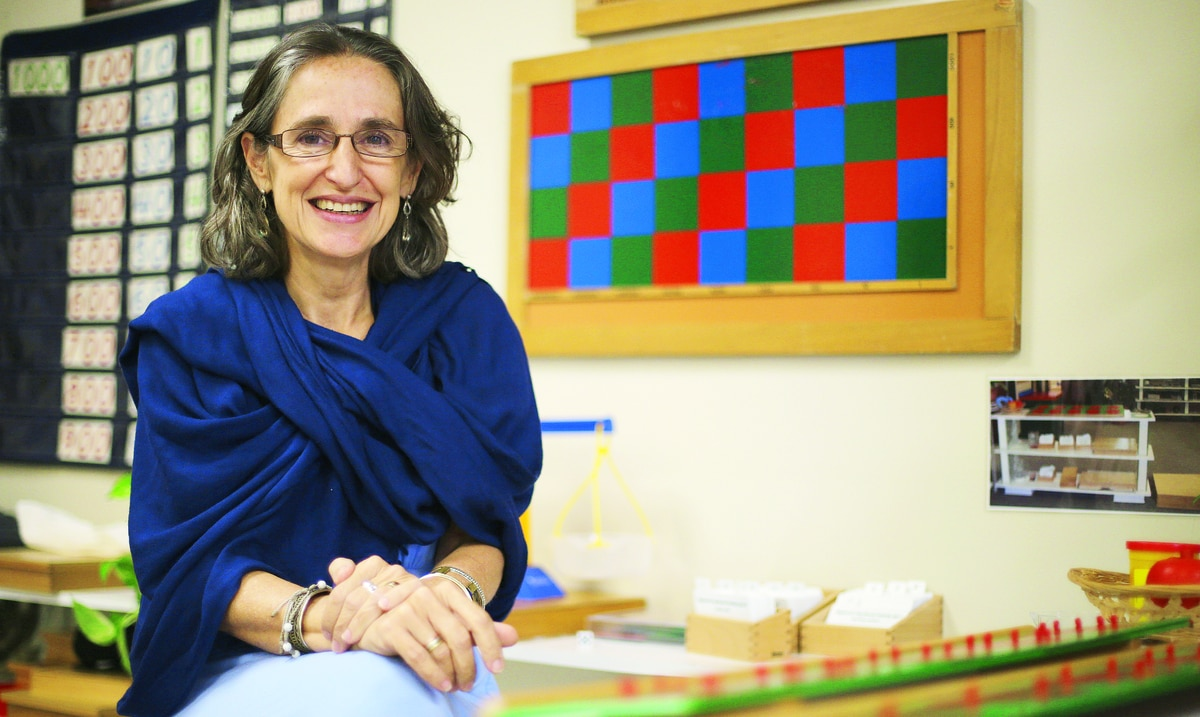 Las escuelas Montessori reestructuran sus metodos de enseñanza