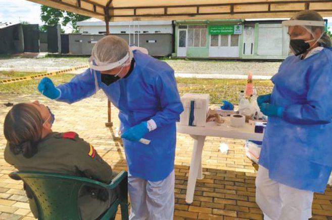Colombia suma 770.435 casos confirmados de coronavirus este lunes