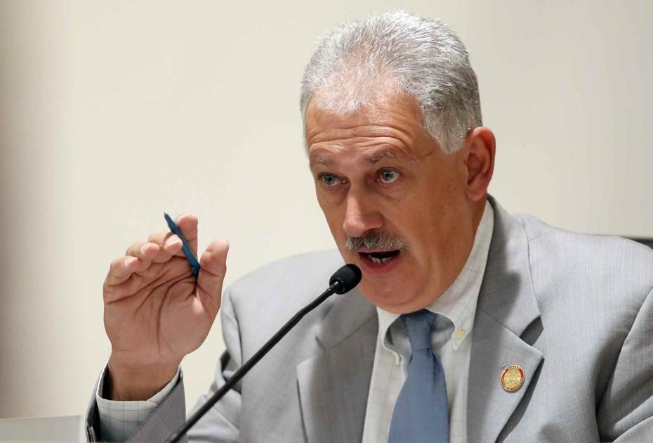 Luis Berdiel Rivera - El senador por el PNP tambien anuncio su resultado positivo, junto con Carmelo Rios, el pasado viernes.