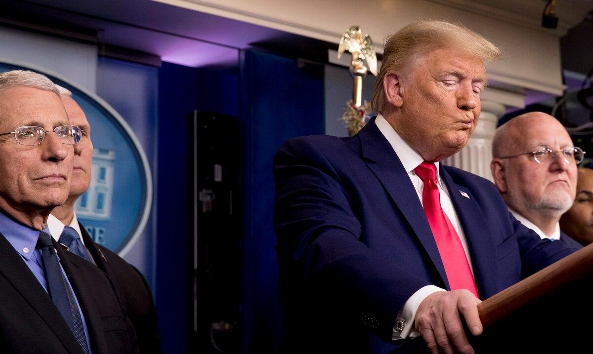 En contra de los pronosticos de Trump, Estados Unidos se acerca a las 200,000 muertes por coronavirus