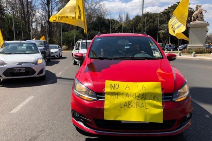 Chaquetazo en Mendoza de los trabajadores de la Salud