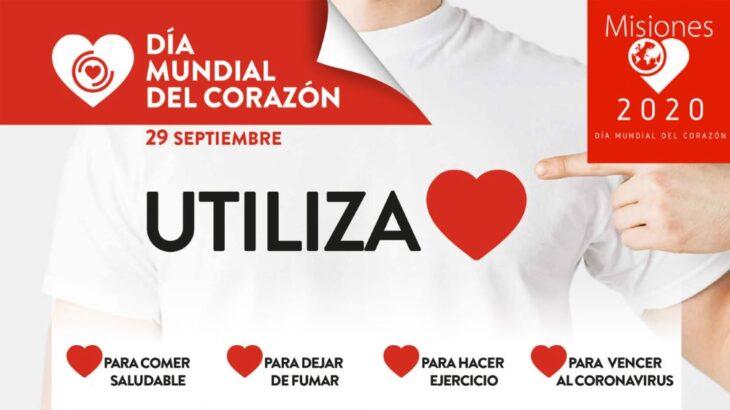 """Mañana se conmemora el Dia mundial del corazon y este año el lema es """"utiliza tu corazon"""""""